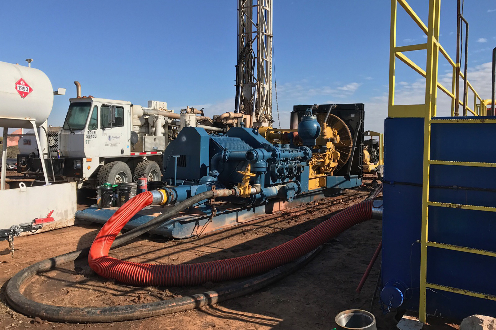 Surface Casing Rd 20 Blue Quail Energy Services